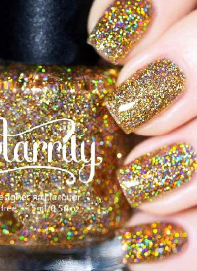 Starrily Nailpolish- King Midas - Holographic Glitter