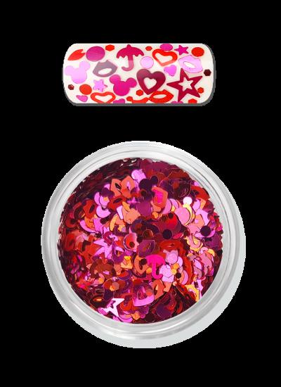 Moyra Nailart RAINBOW LOVE FLITTER MIX NO. 02