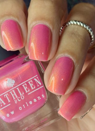 Kathleen& Co Polish - 2021 Spring Shimmers- Frangipani