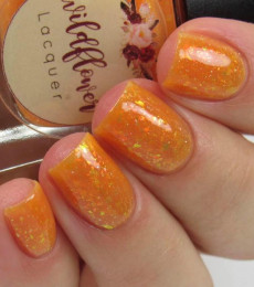 Wildflower Lacquer - Mermaids & Mittens Collection -Frosted Coral