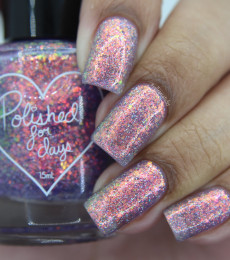 Polished For Days - Sweater Weather Collection - Sugar Plum Nailpolish