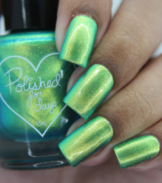 Polished For Days - Sweater Weather Collection - Blue Spruce Nailpolish