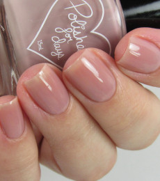 Polished For Days Polish - Sweet Tooth Collection - Soft Focus - Plum Taupe