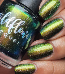 Wildflower Lacquer - For The Birds Collection - You Grackle Me Up