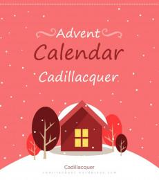 Cadillacquer Nailpolish- 2021 Christmas Calender (18 pcs)