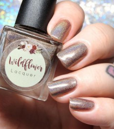 Wildflower Lacquer - Harley's Holos Collection - Guess What? Wiener Butt!
