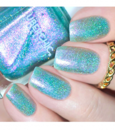 Boho Blues Holographic Polish