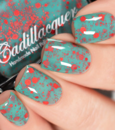 Cadillacquer - 2021 Summer Flowers Collection - Gerbera Daisy