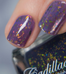 Cadillacquer Exclusive Shade - Cabernet Violet