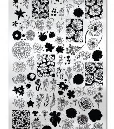 Uberchic Nailart -  Single Stamping Plates - Secret Garden-02