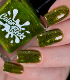 Color Flecks Nailpolish - Swamp Fairy