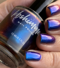KBShimmer- The Love At Frost Sight Collection- Dragon On And On Multichrome Nail Polish