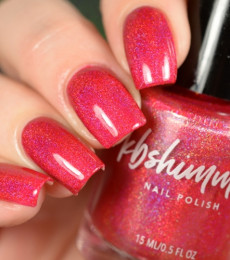 KBShimmer Nailpolish - Get To The Poinsettia