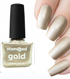 Picture Polish Stamping Polish - Gold