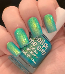 Polish Me Silly - Glow Pop Shimmer Collection - Sea me Glow