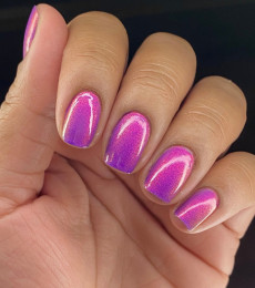 Polish Me Silly - Glow Pop Shimmer Collection - Purple Haze