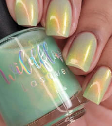 Wildflower Lacquer -  Stay Golden Collection - I Could Vomit Just Looking at You