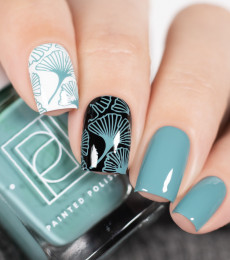 Painted Polish - At Sea : Vol V Collection - Stamped in Kelp