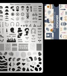 Moyra Big Stamping Plate 103- Designer
