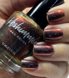 KBShimmer- The Love At Frost Sight Collection- Much Lava To You Multichrome Nail Polish