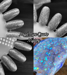 Wildflower Lacquer - The Raw Crystal Collection - Angel Aura Quartz Mystery Polish