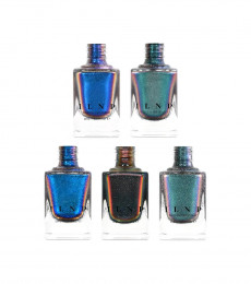 ILNP Nailpolish - The Ultra Chromes Collection Bundle ( 5 pcs)