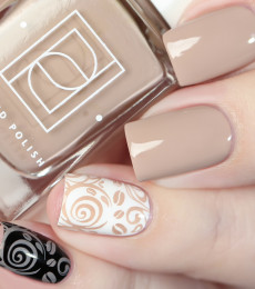 Painted Polish - Keep Calm & Brew On Collection - Stamped in Chai