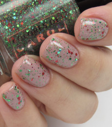 Colores de Carol Nailpolish - I'll be Home For Holidays - Ugly Sweater Day