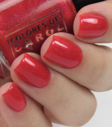 Colores de Carol Nailpolish - I'll be Home For Holidays Collection - Wrapped in Red