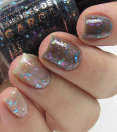 Colores de Carol Nailpolish - I'll be Home For Holidays Collection - Stocking in Traffic