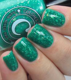 Colores de Carol Nailpolish Verde Verde