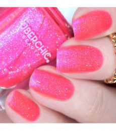 Uberchic Beauty - Bubblegum Princess Holographic Polish