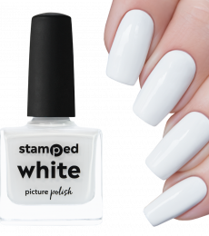 Picture Polish Stamping Polish - White