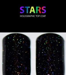 Starrily Nailpolish- Stars - Holographic Top Coat