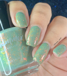KBShimmer - Enchanted Forest Collection- Amanita Moment Flakie Nail Polish